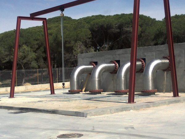 Estación de Bombeo y Colector de Pluviales