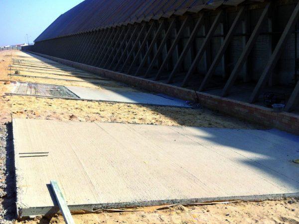 Reconstrucción de Talud de hormigón en Fertiberia Palos.