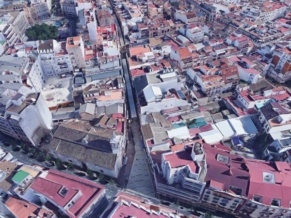 Peatonalización Calles del centro
